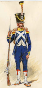 French Light Infantry: Retreat from Burgos Autumn 1812 in the Peninsular War