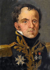 General Louis Emmanuel Rey, French commander at the Storming of San Sebastian between 11th July and 9th September 1813 in the Peninsular War