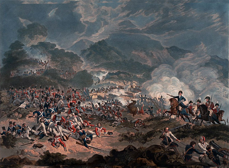 Battle of Sorauren: Battle of the Pyrenees fought between 25th July and 2nd August 1813 in the western Pyrenees Mountains, during the Peninsular War