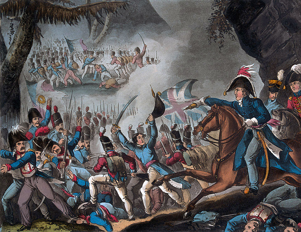 Battle of the Pyrenees fought between 25th July and 2nd August 1813 in the western Pyrenees Mountains, during the Peninsular War