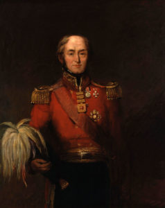 General Sir Edward Barnes: Battle of the Pyrenees fought between 25th July and 2nd August 1813 in the western Pyrenees Mountains, during the Peninsular War: picture by William Salter