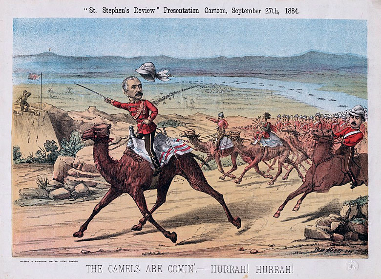 'The Camels are coming Hurrah Hurrah': Battle of Abu Klea on 17th January 1885 in the Sudanese War