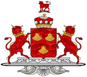 The arms of Lord Dacre of Gilsland: Battle of Flodden on 9th September 1513