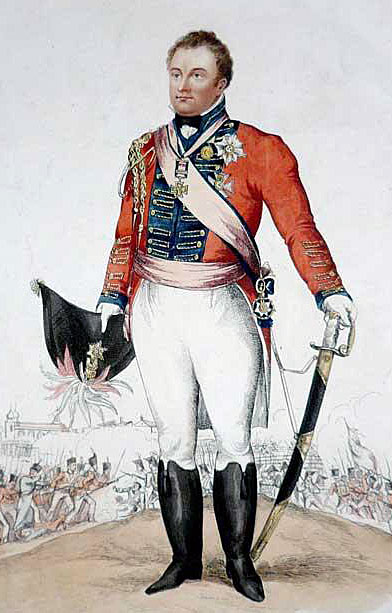 General Sir Rowland Hill: Battle of the Nivelle on 10th November 1813 during the Peninsular War