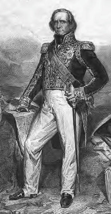 Marshal Soult: Battle of the Nivelle on 10th November 1813 during the Peninsular War