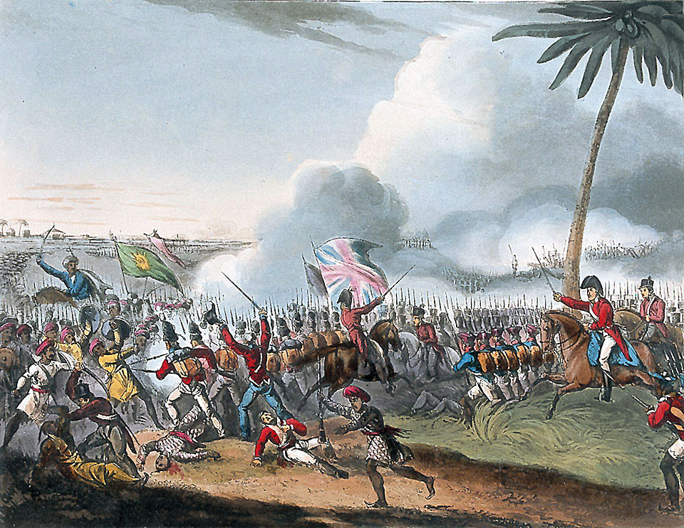 Battle of Mallavelly on 27th March 1799: Storming of Seringapatam on 4th May 1799 in the Fourth Mysorean War
