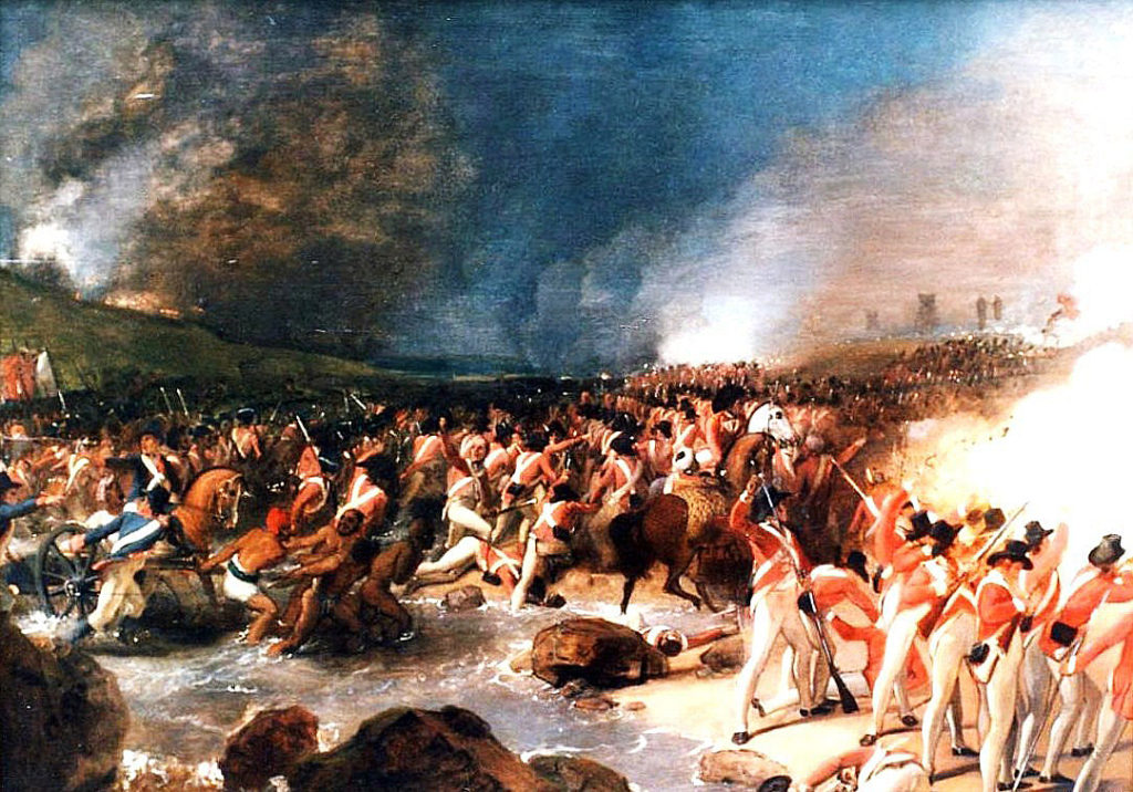 HM 33rd Foot at the Storming of Seringapatam on 4th May 1799 in the Fourth Mysore War