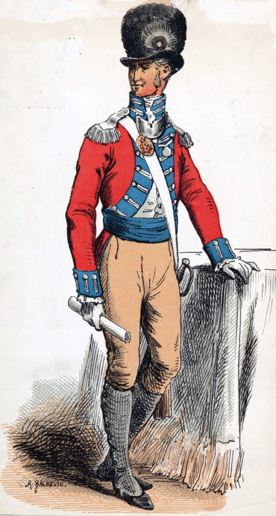 Officer of the Swiss Regiment de Meuron: Storming of Seringapatam on 4th May 1799 in the Fourth Mysore War