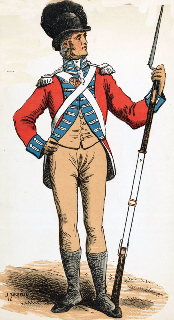 Soldier of the Swiss Regiment de Meuron: Storming of Seringapatam on 4th May 1799 in the Fourth Mysore War