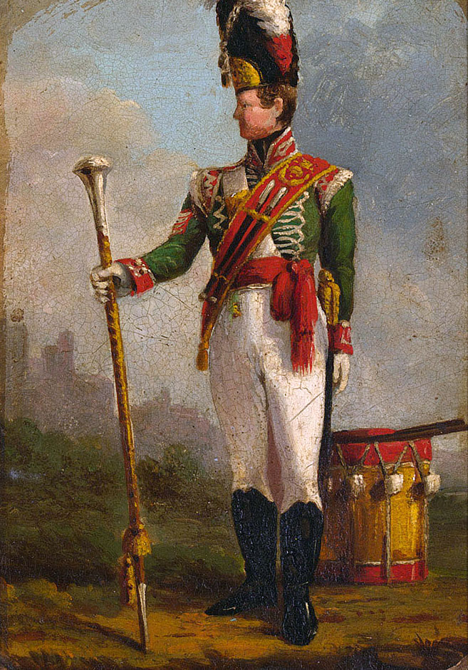 Drum Major 94th Regiment 'Scotch Brigades': Storming of Seringapatam on 4th May 1799 in the Fourth Mysorean War