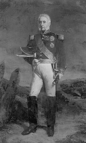 General of Division Jean Harispe: Battle of Orthez on 27th February 1814 in the Peninsular War