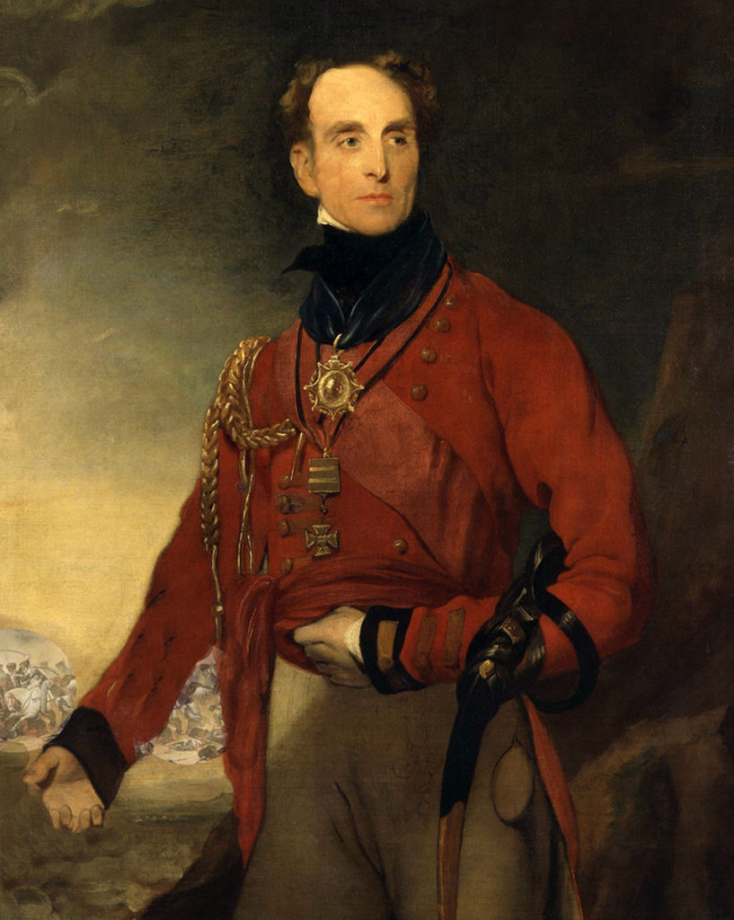 General Lowry Cole: Battle of Orthez on 27th February 1814 in the Peninsular War
