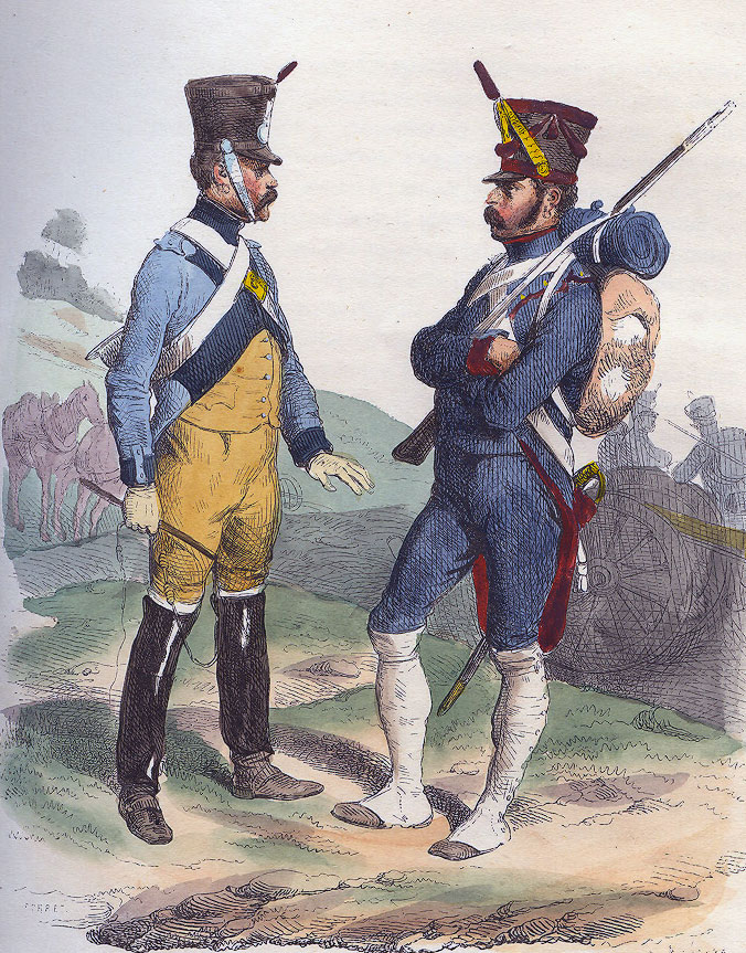 French Foot Artillery: Battle of Toulouse on 10th April 1814 in the Peninsular War