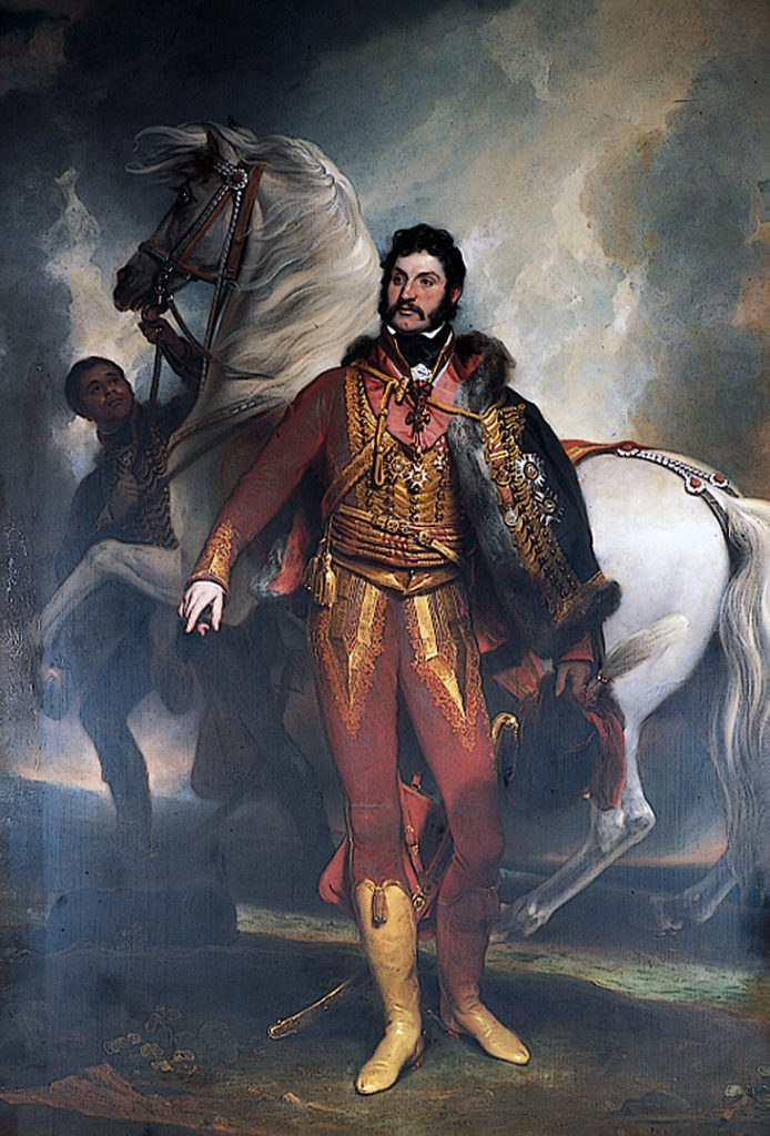 Colonel Richard Hussey Vivian: Battle of Toulouse on 10th April 1814 in the Peninsular War
