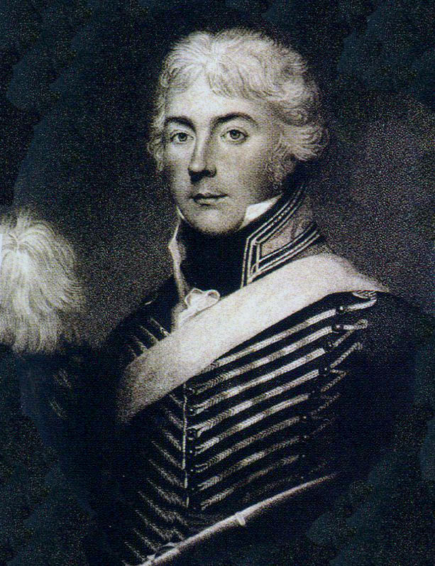 Lieutenant Colonel Charles Taylor of 20th Light Dragoons, killed at the Battle of Vimeiro on 21st August 1808 in the Peninsular War