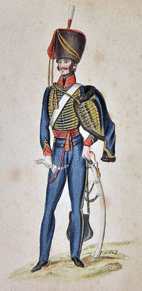 1st Hussars King's German Legion: Battle of Toulouse on 10th April 1814 in the Peninsular War