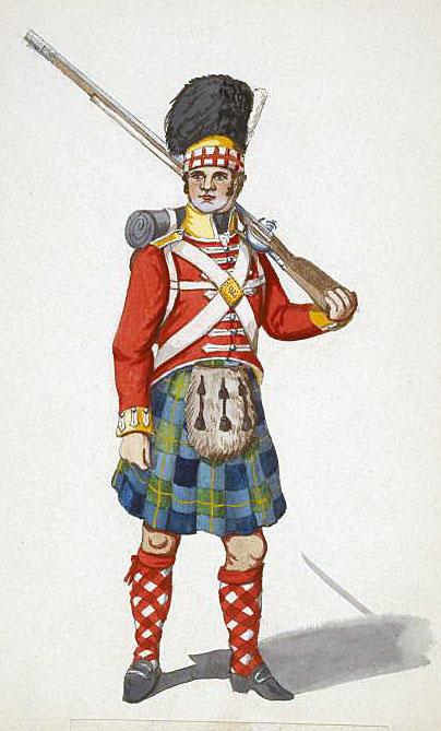 92nd Highlander: Battle of Vitoria on 21st June 1813 during the Peninsular War