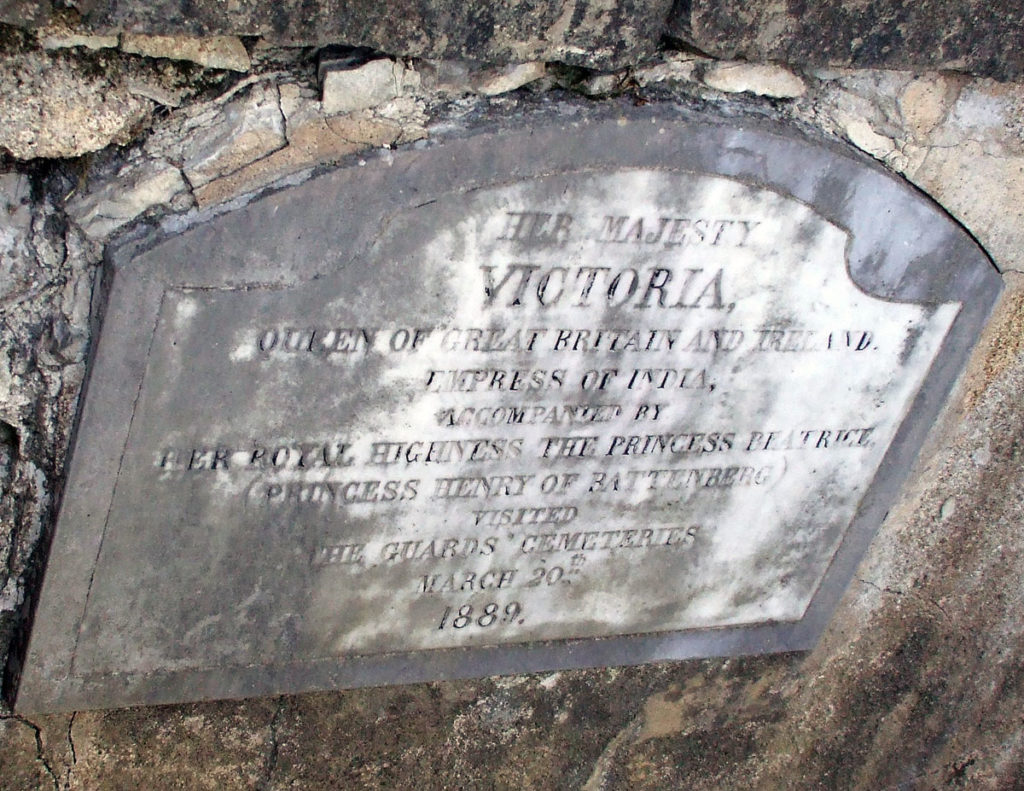 Memorial to the visit of Queen Victoria: Sortie from Bayonne on 14th April 1814 in the Peninsular War