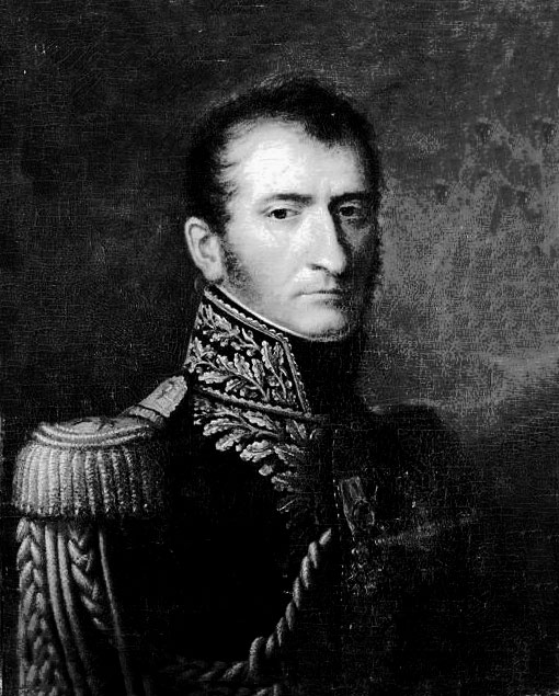 General Henri-François Delaborde, French commander at the  Battle of Roliça on 17th August 1808 in the Peninsular War
