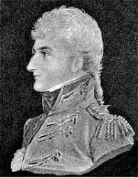 Lieutenant Colonel George Lake killed at the Battle of Roliça on 17th August 1808 in the Peninsular War