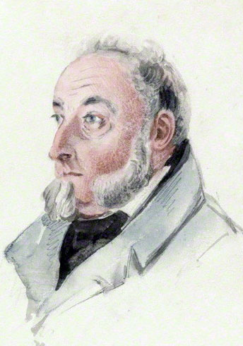 Sir Willoughby Cotton in later life: Sortie from Bayonne on 14th April 1814 in the Peninsular War