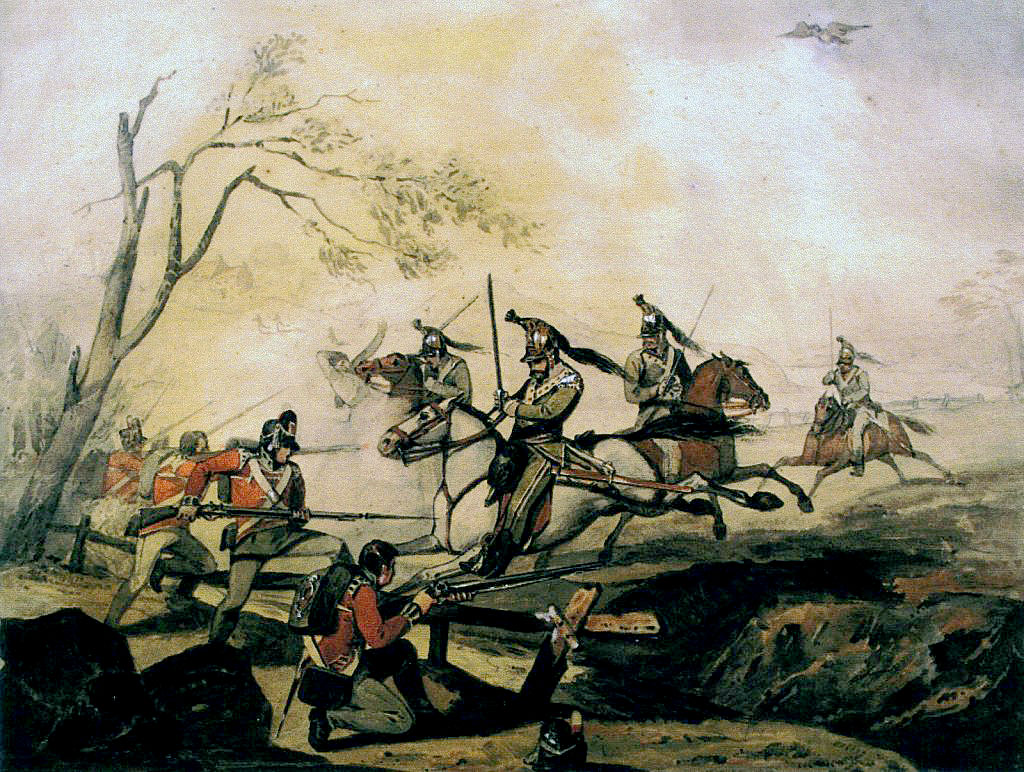 3rd Battalion Royal Scots at the Battle of Corunna also knonwn as the Battle of Elviña on 16th January 1809 in the Peninsular War
