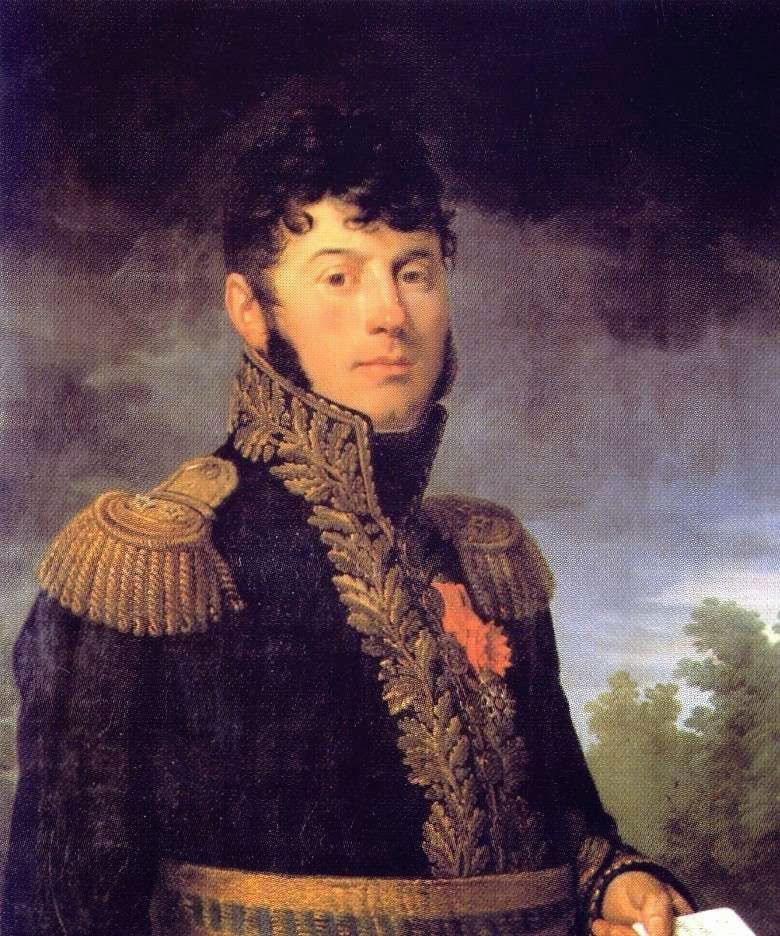 General César Alexandre Debelle: Battle of Sahagun on 21st December 1808 in the Peninsular War