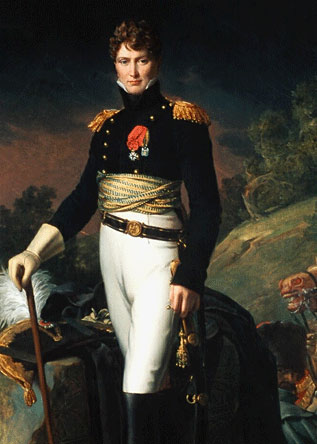 Brigadier General Auguste François-Marie de Colbert-Chabanais killed at the Battle of Cacabelos on 3rd January 1809 in the Peninsular War