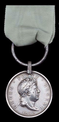 Guelphic Medal: Battle of Benevente on 29th December 1808 in the Peninsular War