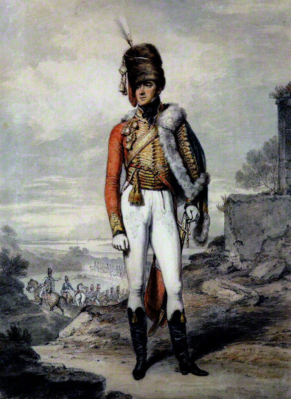 General Lord Henry Paget: Battle of Benevente on 29th December 1808 in the Peninsular War