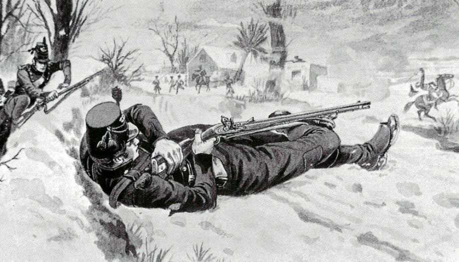 Thomas Plunket, marksman at the Battle of Cacabelos on 3rd January 1809 in the Peninsular War