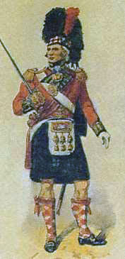 Black Watch officer: Battle of Corunna, also known as the Battle of Elviña, on 16th January 1809 in the Peninsular War