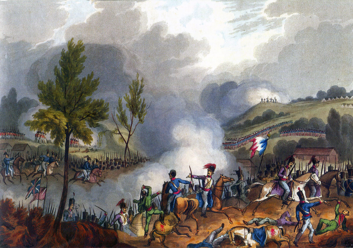 Battle of Grijo: Battle of the Passage of the Douro on 16th May 1809 in the Peninsular War: picture by JJ Jenkins