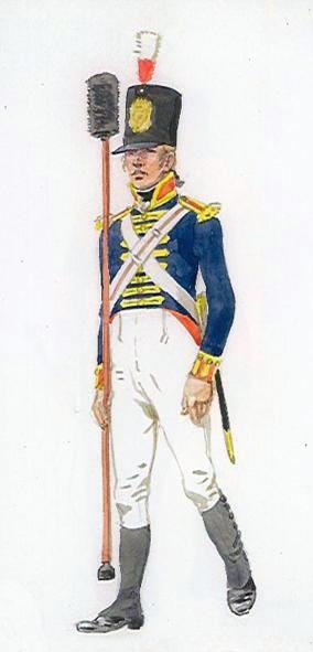 Royal Artillery gunner: Battle of Talavera on 28th July 1809 in the Peninsular War