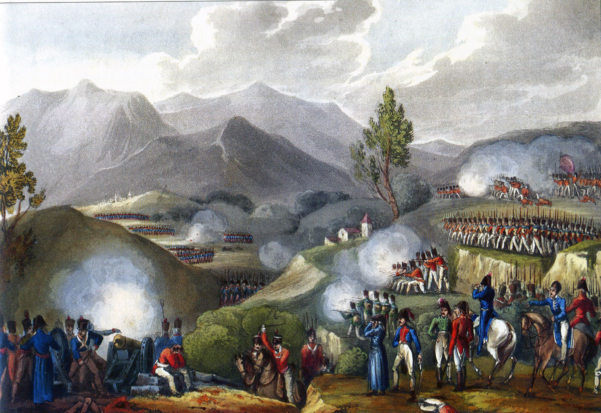 Battle of Salamonde: Battle of the Passage of the Douro on 16th May 1809 in the Peninsular War: picture by JJ Jenkins