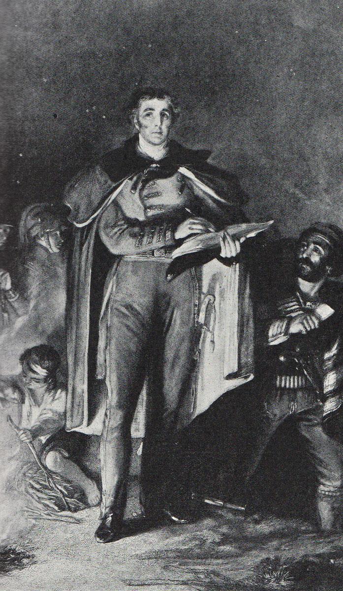 Sir Arthur Wellesley: Battle of Talavera on 28th July 1809 in the Peninsular War