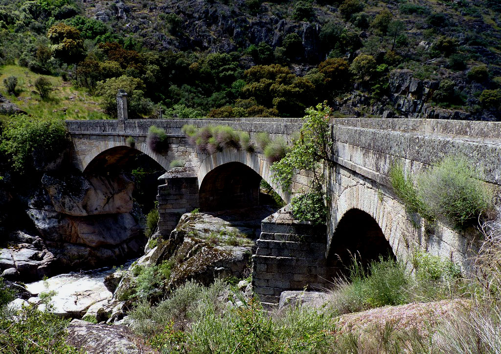 Bridge over the River Coa: Battle of the River Coa on 24th July 1810 in the Peninsular War