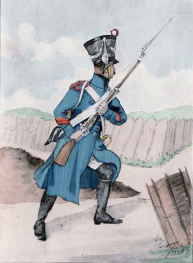 French fusilier: Battle of Redinha or Pombal fought on 12th March 1811 in the Peninsular War