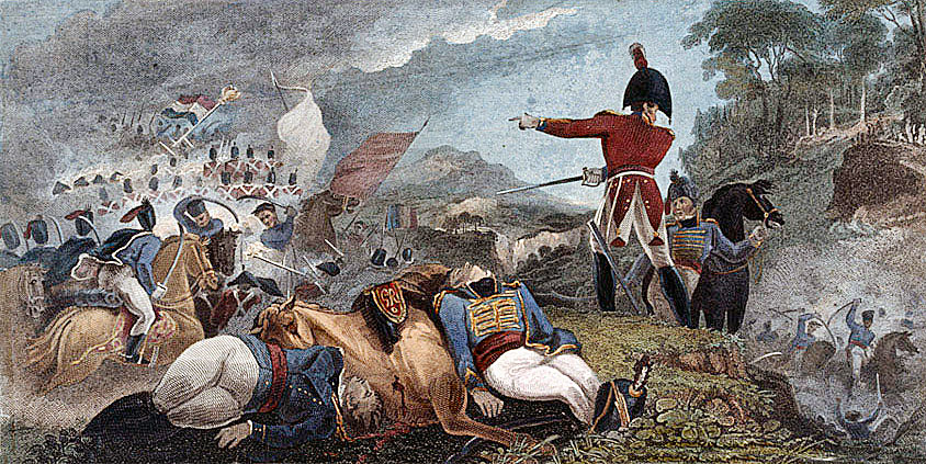 General Graham at the Battle of Barossa or Chiclana fought on 5th March 1811 in the Peninsular War