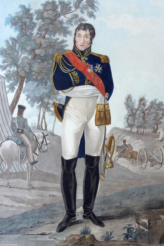 Marshal Massena: Battle of Busaco on 27th September 1810 in the Peninsular War
