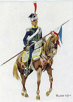 1st Vistula Polish Lancers: Battle of Albuera on 16th May 1811 in the Peninsular War