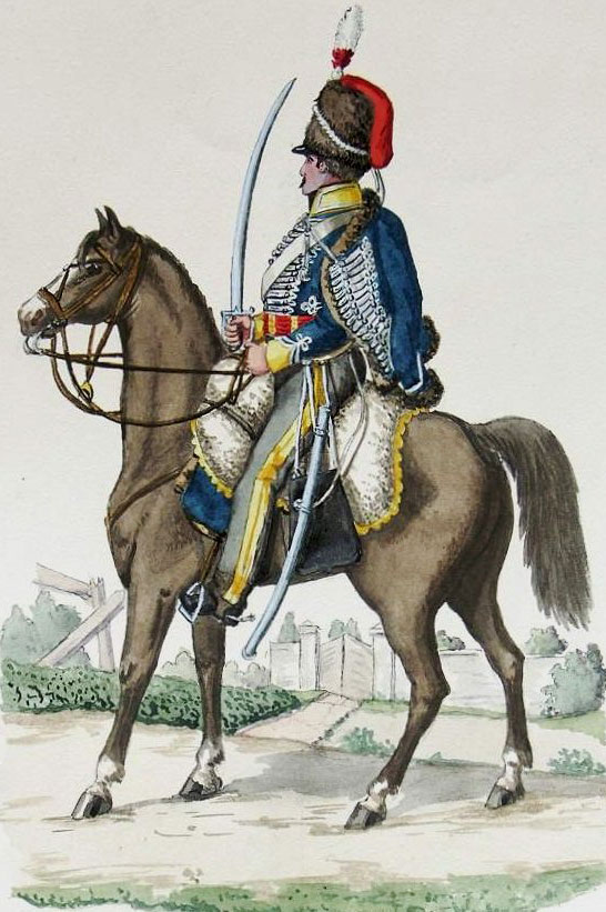 3rd King's German Legion Hussar: Battle of Benavente on 29th December 1808 in the Peninsular War