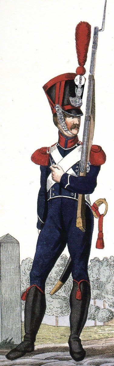 Carabinier of French 4th Light Infantry: Battle of Sabugal on 3rd April 1811 in the Peninsular War