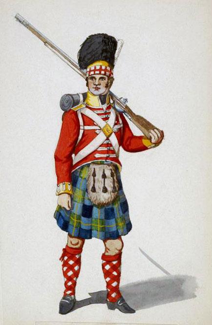 92nd Highlander: Battle of Arroyo Molinos on 28th October 1811 in the Peninsular War