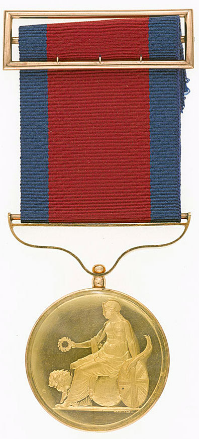 Army Gold Medal awarded to Sir William Inglis: Battle of Albuera on 16th May 1811 in the Peninsular War