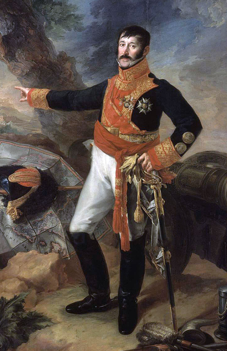 General Jose de Zayas: Battle of Albuera on 16th May 1811 in the Peninsular War