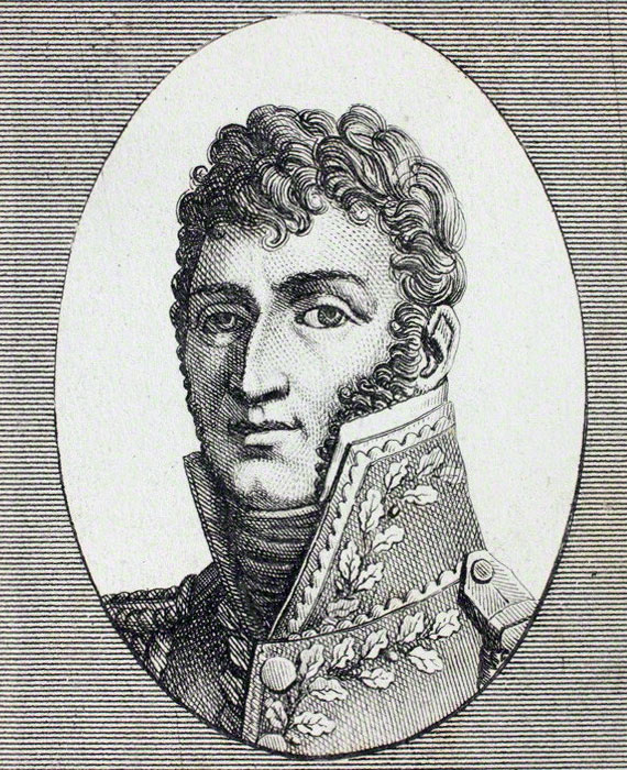 General Latour Maubourg, French commander at the Battle of Usagre on 25th May 1811 in the Peninsular War