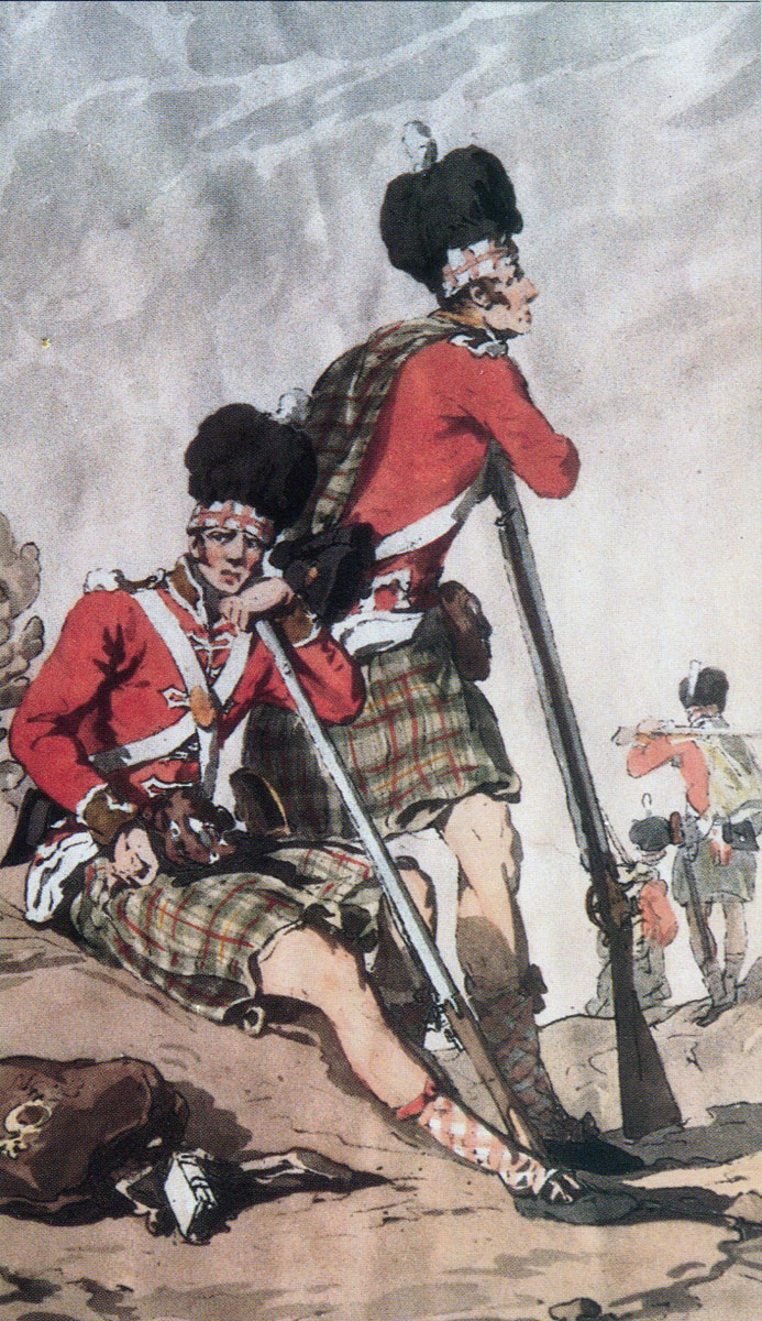 Scottish Highlanders: Battle of Fuentes de Oñoro 3rd to 5th May 1811 in the Peninsular War