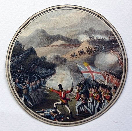 Commemorative Medal for the Battle of Albuera on 16th May 1811 in the Peninsular War