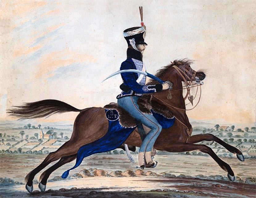 British 15th Hussar: Battle of Sahagun on 21st December 1808 in the Peninsular War